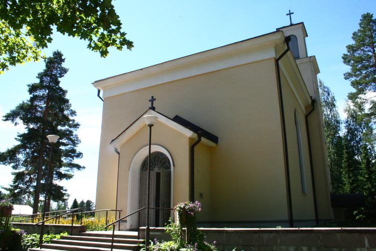Kouvolan vanhan hautausmaan kappeli